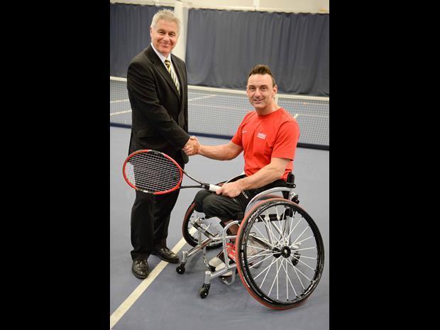 Wheelchair tennis pic